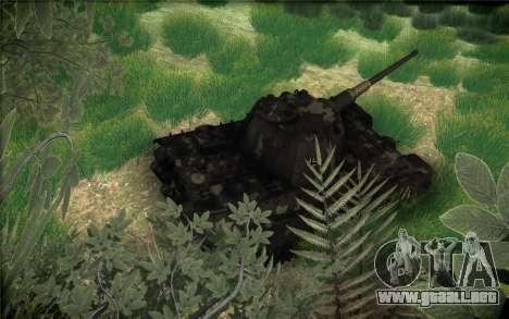 Panther II para vista lateral GTA San Andreas