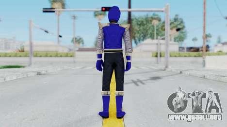 Power Rangers Ninja Storm - Navy para GTA San Andreas tercera pantalla