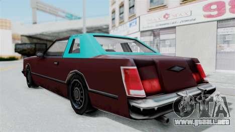 Beta VC Cougar para la visión correcta GTA San Andreas