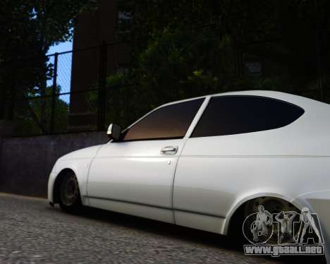Lada Priora Coupe para GTA 4 visión correcta