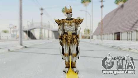 N Daguva Zeba para GTA San Andreas segunda pantalla