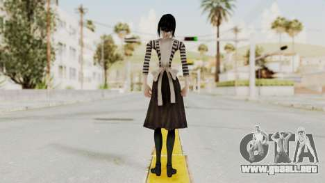 Alice London Madness Returns para GTA San Andreas tercera pantalla