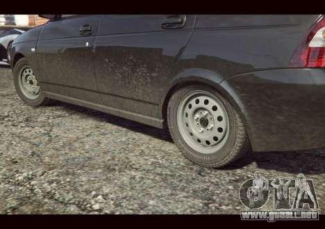 GTA 5 VAZ 2170 vista lateral izquierda trasera