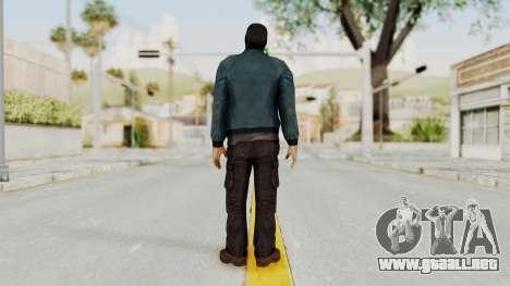 Wanted Weapons Of Fate Chicago Grunt Masked para GTA San Andreas tercera pantalla