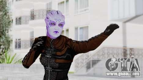 Mass Effect 1 Asari Shiala Commando para GTA San Andreas