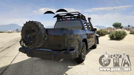 Volkswagen Amarok Apocalypse para GTA 5