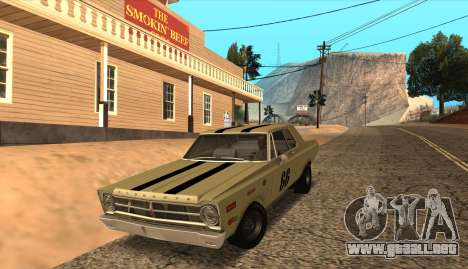 Plymouth Belvedere 2-door Sedan 1965 para GTA San Andreas left