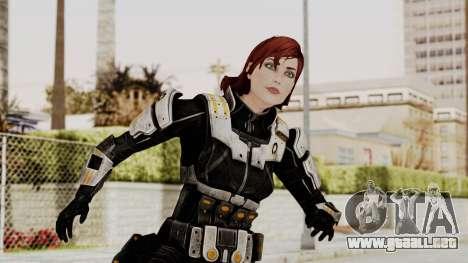 Mass Effect 3 Female Shepard Ajax Armor para GTA San Andreas