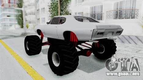 Pontiac GTO 1968 Monster Truck para GTA San Andreas left