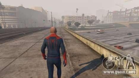 GTA 5 Amazing Spiderman tercera captura de pantalla