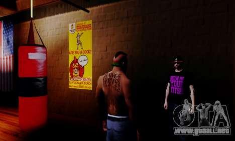 El vendedor de los esteroides en el gimnasio para GTA San Andreas