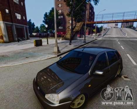 Lada Kalina para GTA 4 left