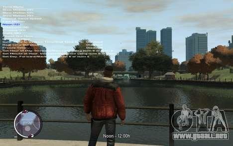 Native Trainer GTA EFLC ENG [STEAM] para GTA 4 quinta pantalla