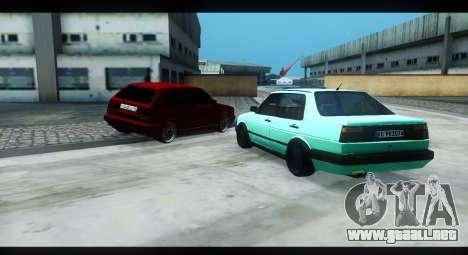 Volkswagen Jetta Mk2 para GTA San Andreas left