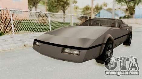 Beta VC Banshee para la visión correcta GTA San Andreas