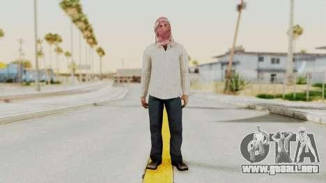 Middle East Insurgent v1 para GTA San Andreas segunda pantalla