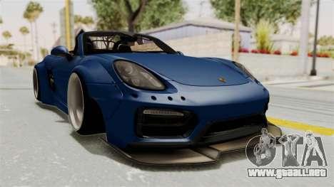 Porsche Boxster Liberty Walk para la visión correcta GTA San Andreas