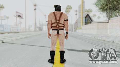 Manhunt 2 - Gimp Bouncer para GTA San Andreas tercera pantalla