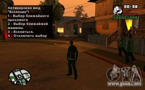 CJ Animation ped para GTA San Andreas