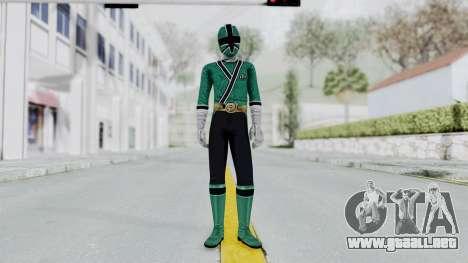 Power Rangers Samurai - Green para GTA San Andreas segunda pantalla