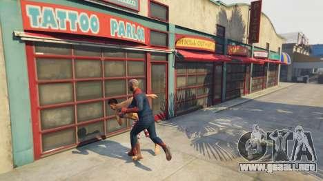 GTA 5 Amazing Spiderman quinta captura de pantalla