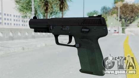 FN57 para GTA San Andreas segunda pantalla