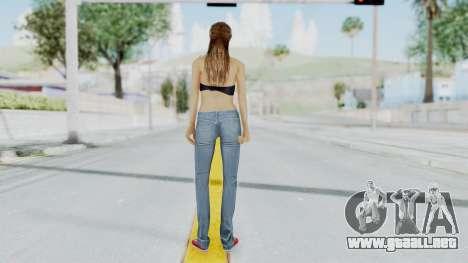 GTA 5 Liz (Elisa Macallen) para GTA San Andreas tercera pantalla