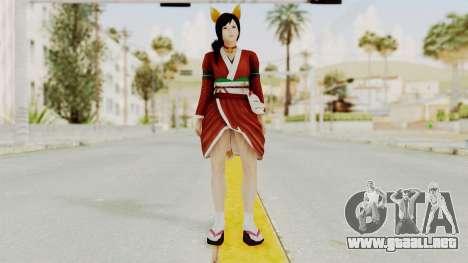 DoA5 Ultimate Kokoro Halloween 2014 Kitty para GTA San Andreas segunda pantalla