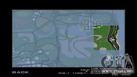 La construcción del puente, y el denso bosque para GTA San Andreas twelth pantalla