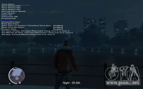 Native Trainer GTA EFLC ENG [STEAM] para GTA 4 sexto de pantalla