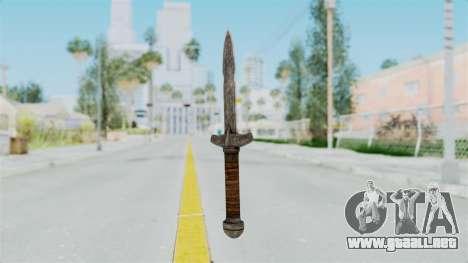 Skyrim Iron Dager para GTA San Andreas