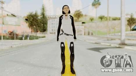 ME3 Dr. Eva Custom Miranda Castsuit para GTA San Andreas segunda pantalla