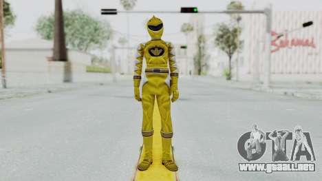 Power Rangers Dino Thunder - Yellow para GTA San Andreas segunda pantalla
