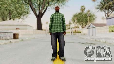 GTA 5 Families Gang Mamber 3 para GTA San Andreas segunda pantalla