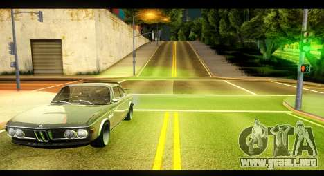 BMW 3.0 CSL para GTA San Andreas left