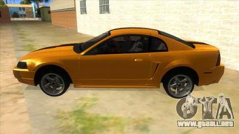 2003 Ford Mustang para GTA San Andreas left