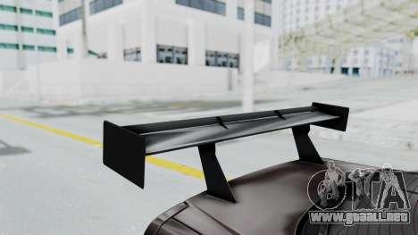 Nissan Skyline R34 GTR 2002 V-Spec II S-Tune para visión interna GTA San Andreas