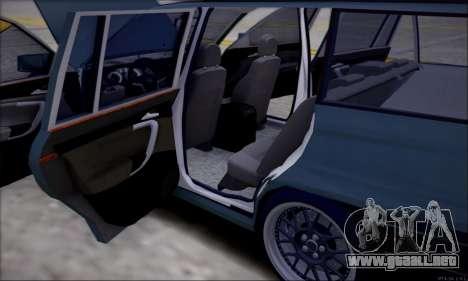 Opel Astra para vista lateral GTA San Andreas