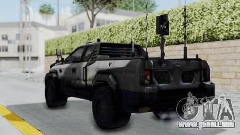 Advanced Warfare Tactical Pickup para GTA San Andreas left