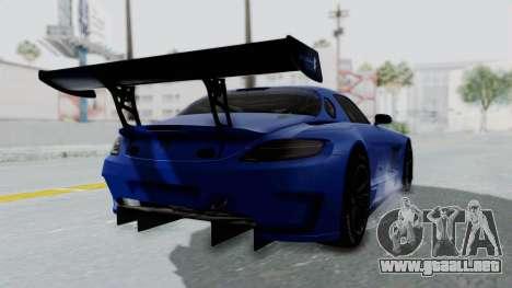 Mercedes-Benz SLS AMG GT3 PJ5 para GTA San Andreas left