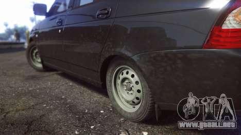 GTA 5 VAZ 2170 vista trasera