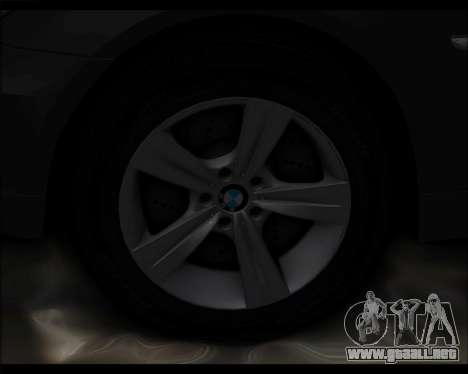 BMW 530xd stock para visión interna GTA San Andreas