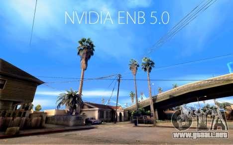 ENB NVIDIA 5.0 FINAL para GTA San Andreas