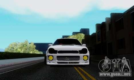 Subaru Impreza WRX STi Wagon Stens para GTA San Andreas vista hacia atrás