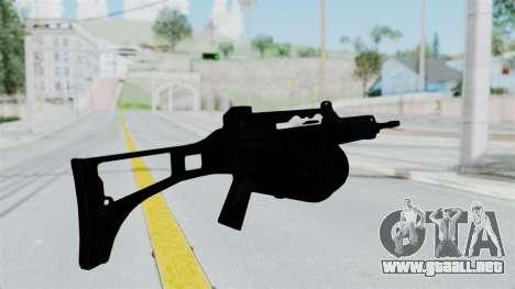 MG36 para GTA San Andreas tercera pantalla