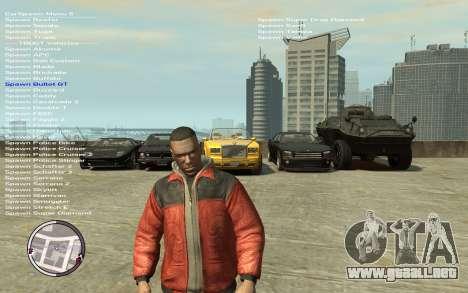 Native Trainer GTA EFLC ENG [STEAM] para GTA 4 tercera pantalla