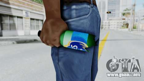 EFES Broken Bottle para GTA San Andreas tercera pantalla