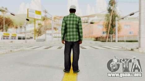 GTA 5 Families Gang Mamber 3 para GTA San Andreas tercera pantalla