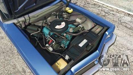 GTA 5 Oldsmobile Delta 88 1973 v2.0 delantero derecho vista lateral