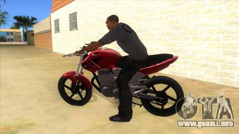 Honda Twister Stunt para GTA San Andreas left